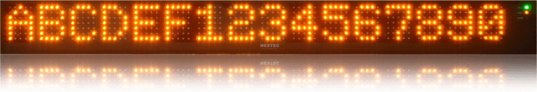 NESTEC Profibus LED display