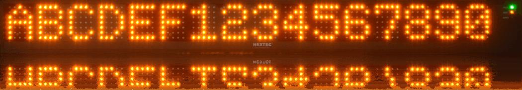 Wyświetlacz LED z interfejsem Profibus